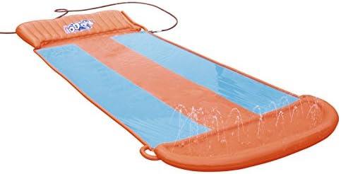 H20 Go Aqua Ramp Triple Water Slide Drench Water Pool Slip N Slide SHIPS TODAY
