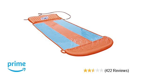 9e23721303 Amazon.com  H2OGO! Triple Water Slide w  Speed Ramp  Toys   Games