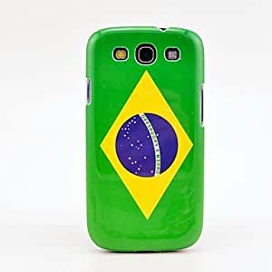 xiao Brazil Flag Pattern Case Cover for Galaxy 3 I9300