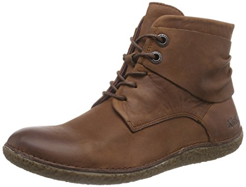 Hobylow Braun Marron Stringate 9 da Kickers Marrone Donna PxdTPHa