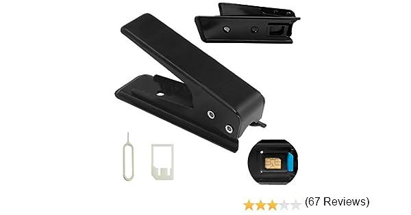 Cortador de tarjetas SIM a MicroSIM (Iphone /Ipad /Samsung /Nokia): Amazon.es: Electrónica