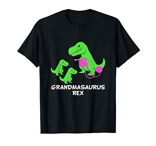 GRANDMASAURUS Rex Fun Grandma Dinosaur T-Shirt Saurus