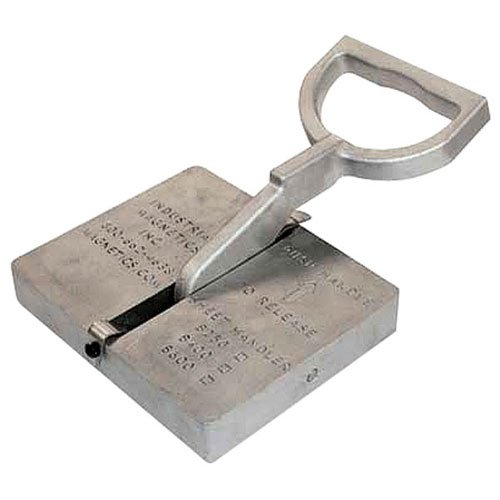 MAGMATE Sheet Handler Magnet - Model #: B250 Holding Value: 125 lbs by Industrial Magnetics