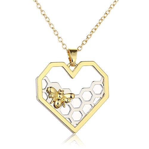 WeiVan Necklace Honeycomb Beehive Pendant product image