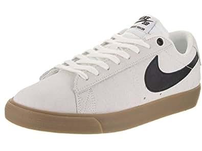 Nike Men's Blazer Low GT Ivory/Black/Gum Light Brown Skate Shoe 10 Men US