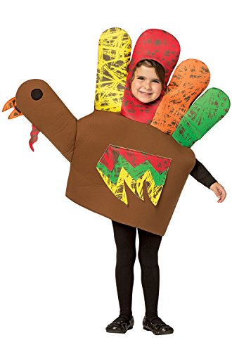 Hand Turkey Kids Costume