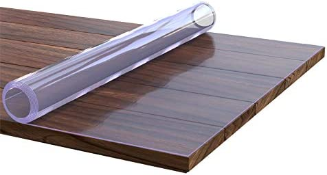 Anro Film de protection de table Transparent Épaisseur 2 mm, Plastique, Transparent, 150x150cm