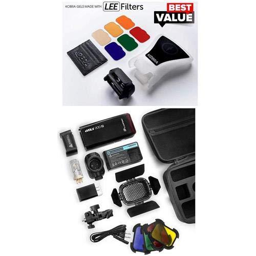 Kobra Full System - with Flashpoint eVOLV 200 R2 TTL Pocket Flash with Barndoor Kit