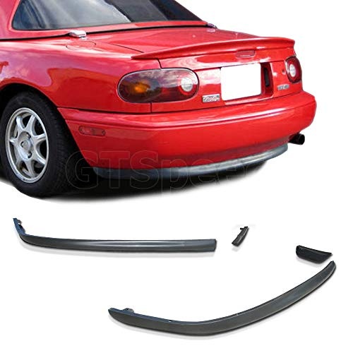 GT-Speed made for 1990-1997 MAZDA MIATA MX5 OEM Style Rear PU Bumper Lip