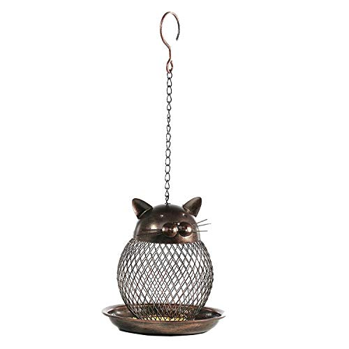 Nosterappou Exquisite and Stylish Bird Feeder, Suitable for Grass and shrubs (16  16  18cm)