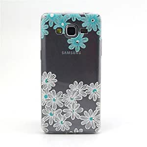 LHY Flowers Pattern TPU Soft Cover for Samsung Galaxy Grand Prime G530H
