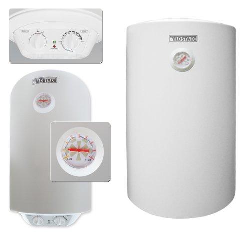 ELDSTAD Warmwasserspeicher Boiler Elektro Speicher Heizung 1,5 kW 50 Liter