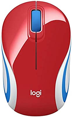 Logitech M187 Wireless Mini Mouse for Windows, Mac and Linux