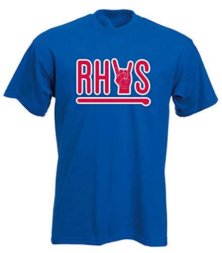 Blue Philadelphia Rhys Home Run Rock T-Shirt Adult