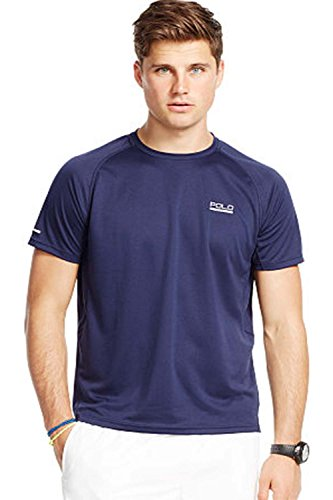 Polo Sport® Ralph Lauren Men's Short Sleeve Performance Tee (X-Large, French Navy)