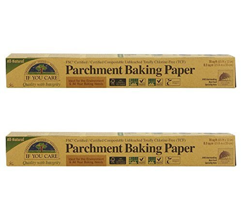 If You Care FSC Certified Parchment Baking Paper, 70 sq ft (Pack of (Parchment Paper)