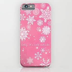 Society6 - Baby It's Cold Outside iPhone 6 Case by Angela Fanton
