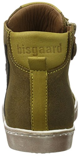 BisgaardSchnürschuhe - Zapatillas altas Unisex Niños Marrón (Khaki)