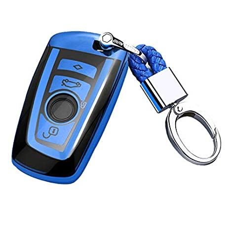 US Full Cover Key Fob Case Shell TPU For Nissan Infiniti 2//3//4//5 Button Keychain