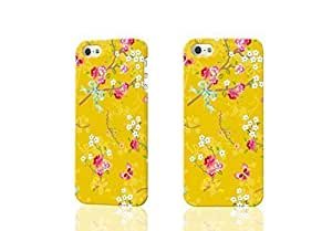 Chinese Rose Yellow wallpaper 3D Rough iphone 4 4S Case Skin, fashion design image custom iPhone 4 4S , durable iphone 4 4S hard 3D case cover for iphone 4 4S, Case New Design By Codystore