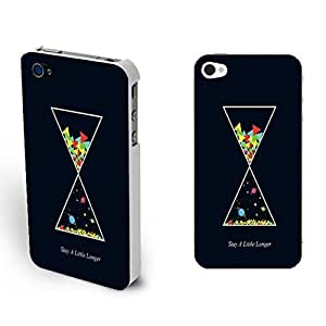 Diy Iphone Cases - Custom Design New Fashion Stylish Snap on Hard Case Cover Skin for Iphone 4/4s Case Protector (colorful triangle funnel BY526)