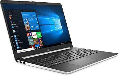2020 Newest HP 15 15.6″ HD Micro-Edge Business Laptop (10th Gen Intel Core i5-1035G1, 8GB DDR4 RAM, 256GB PCIe M.2 SSD) USB Type-C, HDMI, HD Webcam, Windows 10 Home Silver + IST HDMI Cable 41XvNvDnF7L