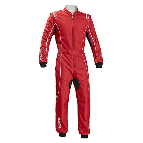 Sparco Groove KS-3 Kart Racing Suit 002334 (Size: X-Large, Red) -