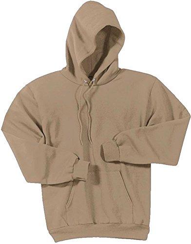 Joe's USA Hoodies Soft & Cozy Hooded Sweatshirt,Large Sand - Light Tan Khaki