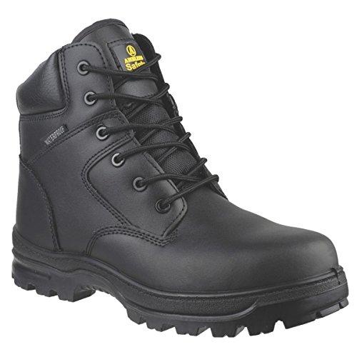 Amblers FS006C Metal libre de seguridad botas negro tamaño 13