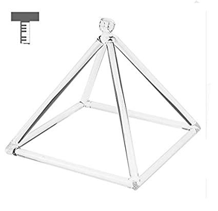 Amazon com - Papilion Quartz Crystal Singing Pyramid C Note