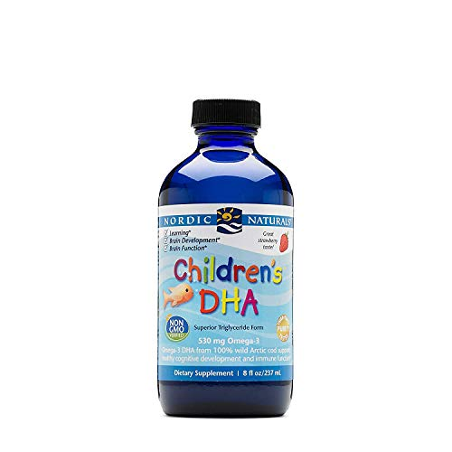 - Nordic Naturals CLO, Childs DHA, 8-Ounce, 0.88 Bottle