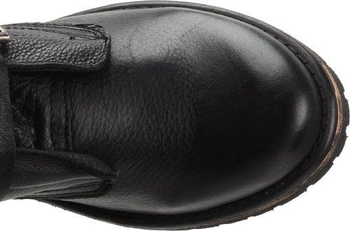 Steve Madden Womens Banddit Black Leather ik8T69N06