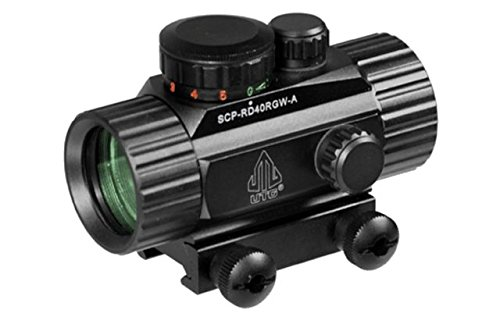 UTG 3.8'' ITA Red/Green CQB Dot Sight with Integral Mount by UTG