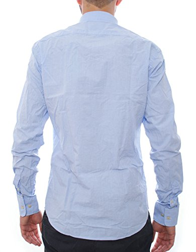 Scotch & Soda Longsleeve shirt in mix&match hommes, chemise classique, turquoise