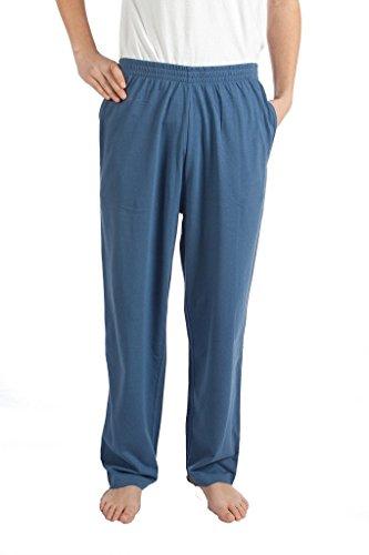 Pembrook Mens Jersey Knit Pants-XL-Blue