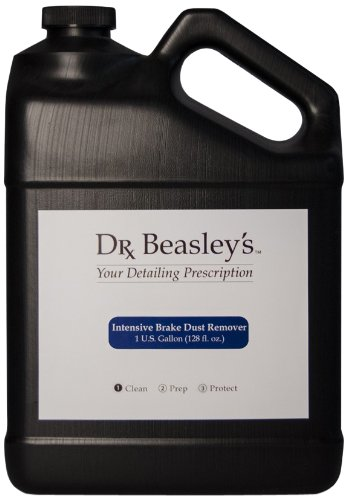 Dr. Beasley's Intensive Brake Dust Remover - 1 Gallon. Removes Brake Dust from Wheels, Fights Etching and Corrosion, Safe for Chrome and Aluminum Finishes by Dr. Beasley's