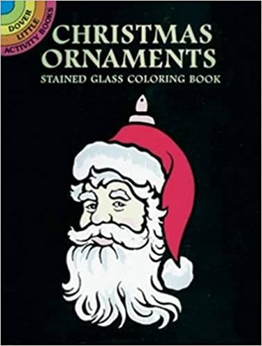 Christmas Ornaments Stained Glass Coloring Book Dover Marty Noble 9780486402468 Amazon Books