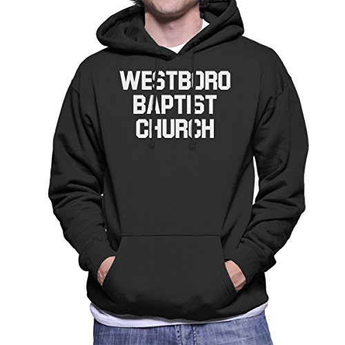 Louis Theroux Westboro Baptist Church Men's Hooded Sweatshirt by Coto7