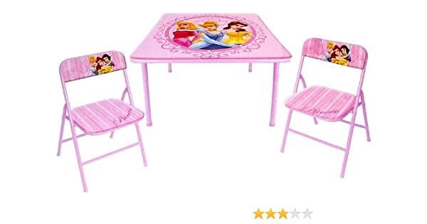 Cool Disney Princess Folding Table And 2 Folding Chairs Dailytribune Chair Design For Home Dailytribuneorg