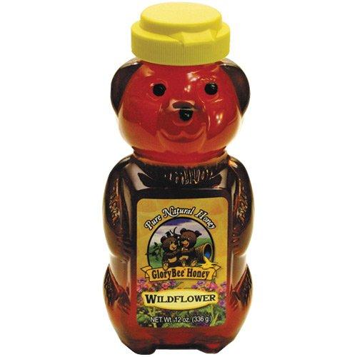 Glory Bee Honey (Glory Bee Honey Wildflwr Sqz Bear)