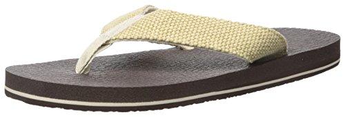 Sanuk Mens Yogi 4 Flip Flop Natural Weave