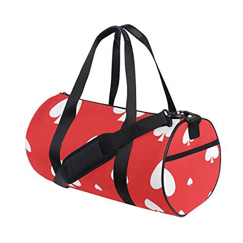 - Duffel Bags Sturdy Poker Paper Number Games Weekender Bag Lightweight Weekend Duffel For Teen Mens Fitness Tote Yoga Ballet Badminton Dufflebag