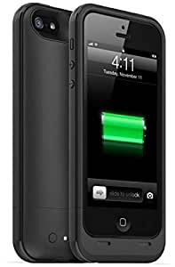 2200mah Extended Rechargeable Battery power bank Case cover for iPhone 5 black