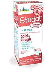 Boiron Stodal Children's Cold & Cough Multi-Symptom Syrup, 125ml, Homeopathic Medicine