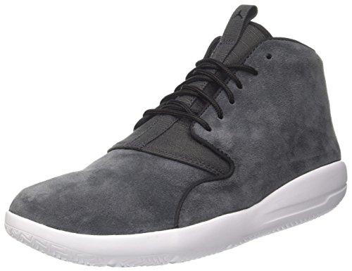 NIKE Men's Jordan Eclipse Chukka Basketball Shoes, Black (Black/Black-White-Anthracite), 7 UK