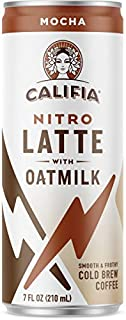 product image for Califia Farms - Nitro Cold Brew Coffee, Mocha Oat Milk Latte - 7 Oz, Shelf Stable, Iced Coffee On-the-Go, Clean Energy, Dairy Free, Gluten Free, Plant Based, Non-GMO