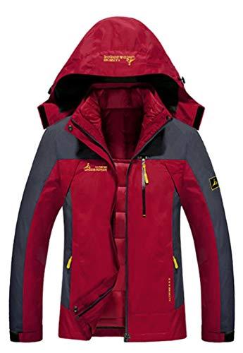 Blouson Randonnée Softshell Rouge Hiver Matelassé Capuche Veste De vent Brinny Vestes Homme Ski Coupe Coupe À Femme Camping Coton Sport pluie gYatwqS