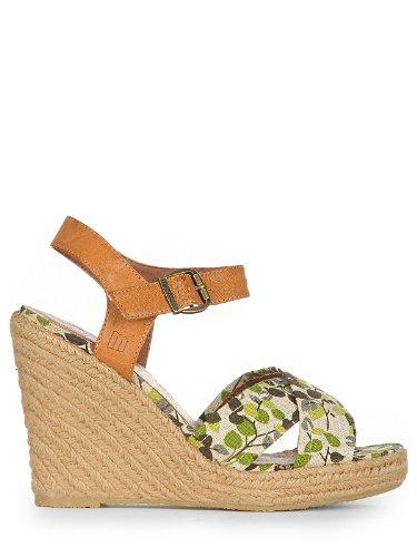 Sandalias Vestir camel De Green Mtng Verde Para Mujer 6qCy8U