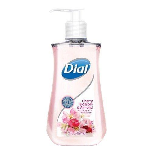 (4 Pack) Dial Liquid Hand Soap, Cherry Blossom & Almond 7.5 Fl Oz (221 Ml) (Dial Cherry Almond Soap compare prices)