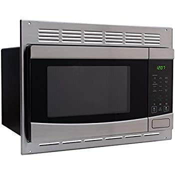 Amazon Com Recpro Rv Stainless Steel Microwave 1 0 Cu Ft